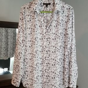 Banana Republic Dillon floral blouse
